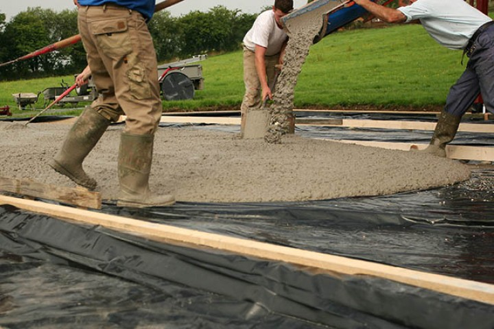 It's all about driveway construction!